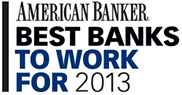 American Banker best banks to work for 2013