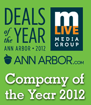 Deals of the year. MLive Media Group AnnArbor.com Company of the year 2012