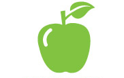 We give out approximately 1,000 green apples every month at our branches.